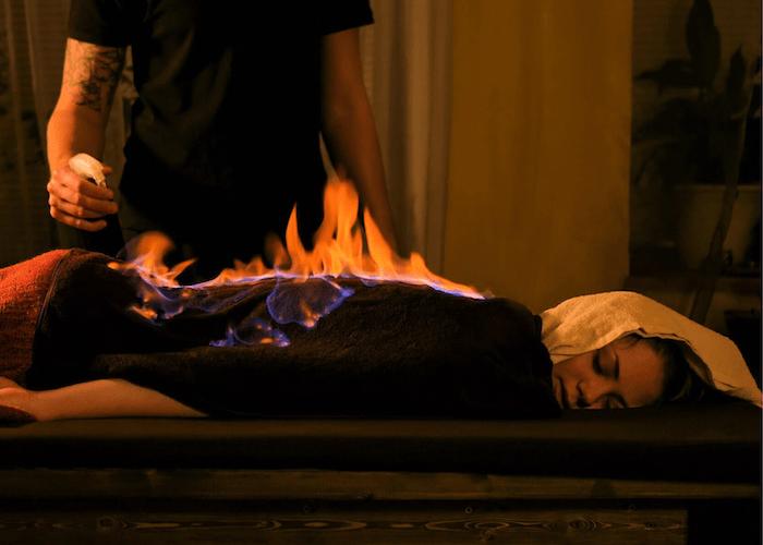 MAssaggio con il fuoco: la termoterpia